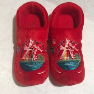 Holland wooden shoe slippers